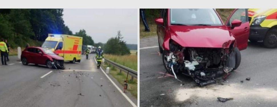 Verkehrsunfall B4 25. Juni 2021